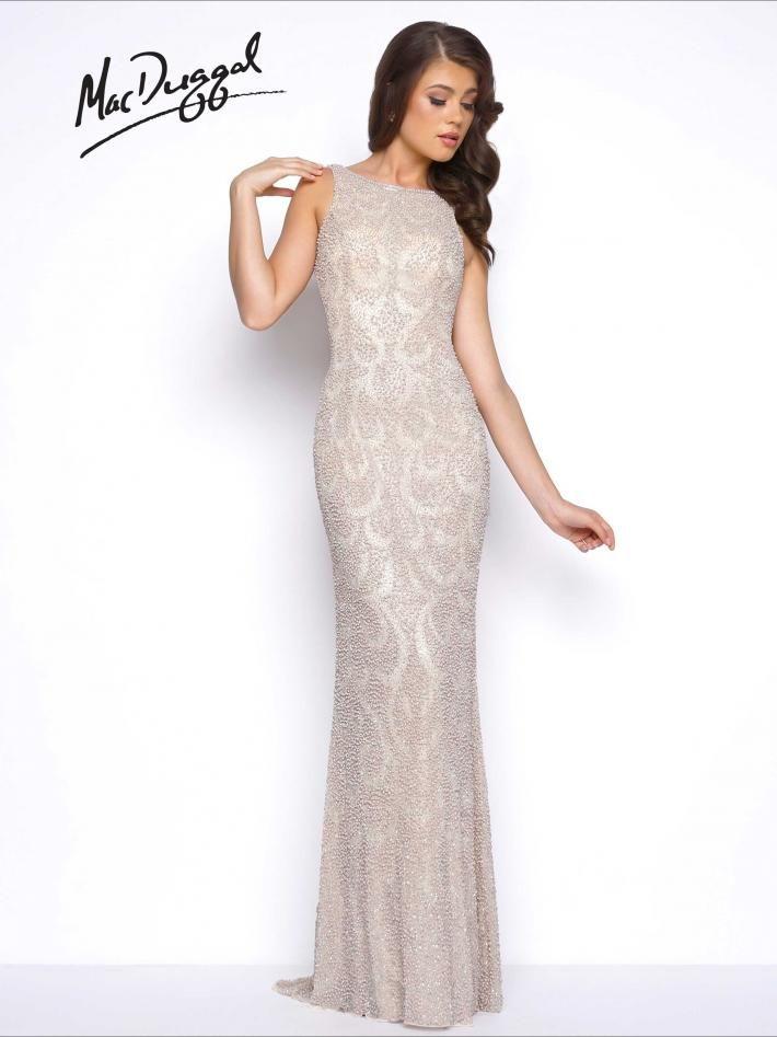 Fully Beaded Prom Dress | Mac Duggal 4481M | Dresses (Fancy ...