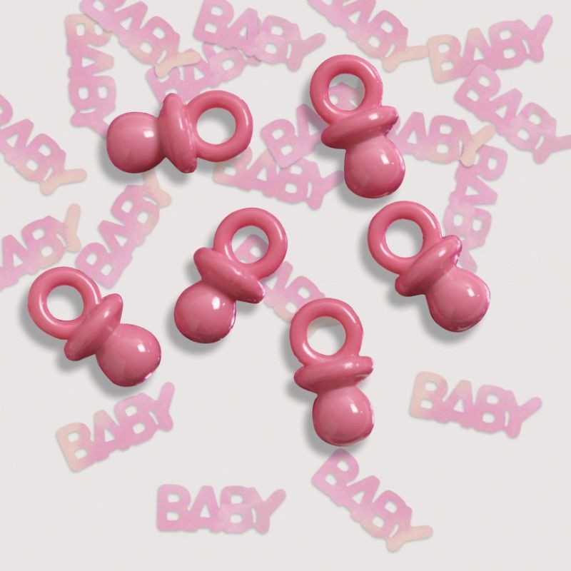 Pink Baby\ - confeti