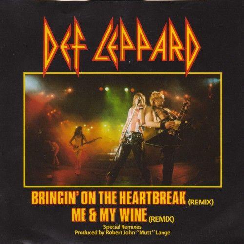 Def Leppard – Bringin' On the Heartbreak (single cover art)