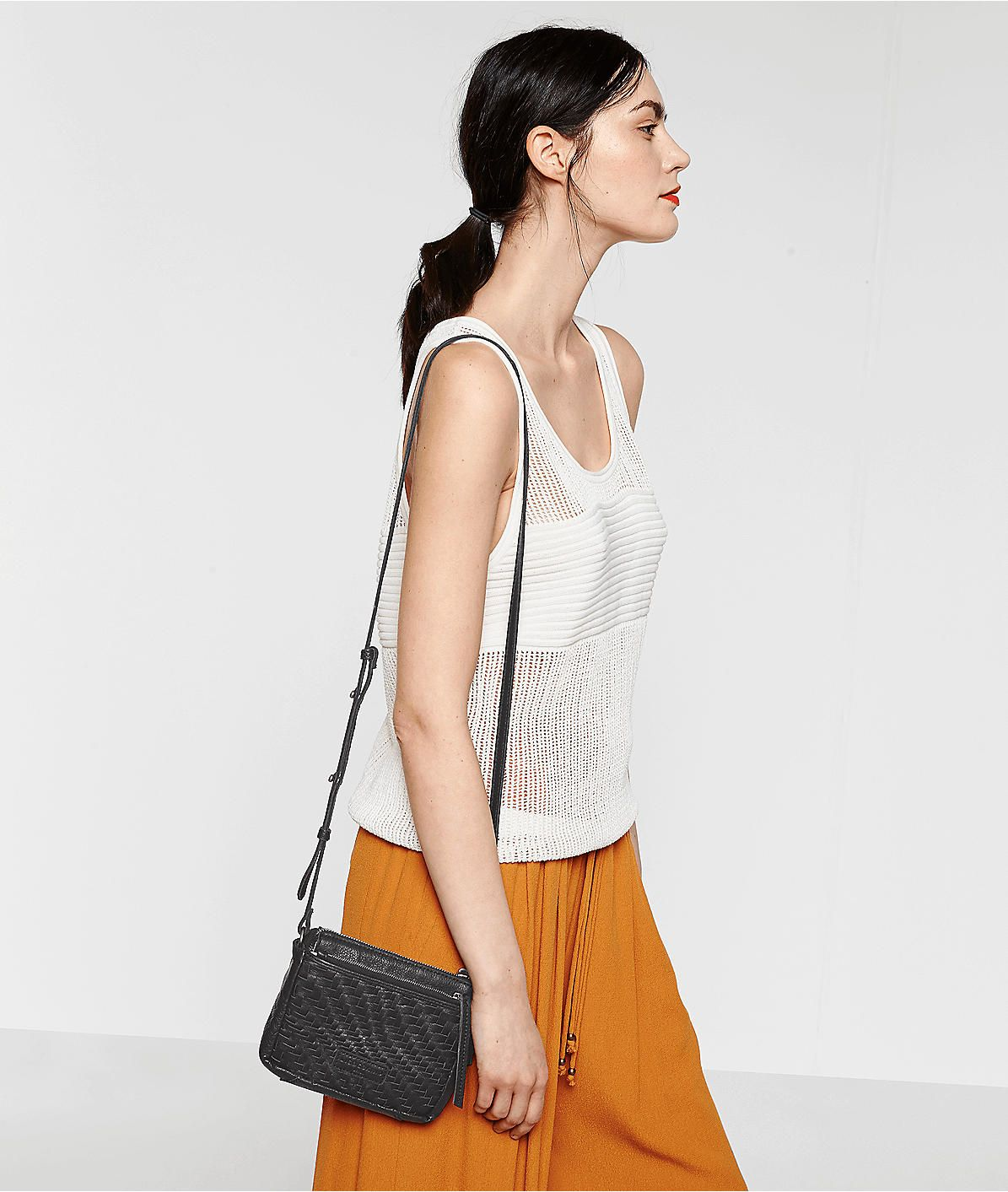 Katima crossbody bag from liebeskind some stripes and
