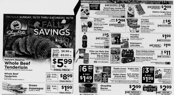ShopRite Preview Ad for the week of 10/13/19 (With images