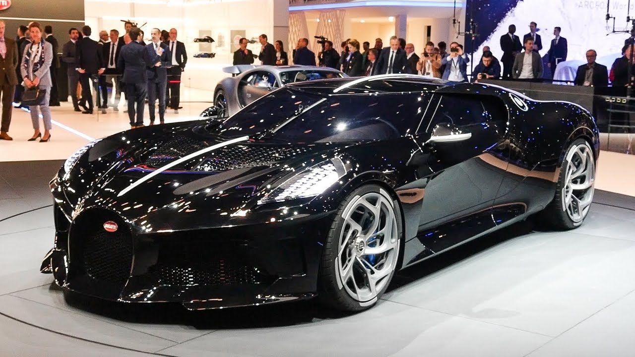 The World S Most Expensive New Car Meet The 16m Bugatti La Voiture Noire Youtube Super Car Bugatti Bugatti Super Cars
