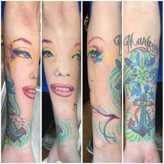 Marleigh, Marilyn, anchor, bluebonnet, and hummingbird!