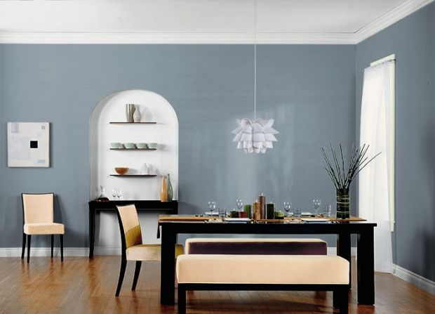 Teton Blue Behr Marvelous Living Room Colors 5