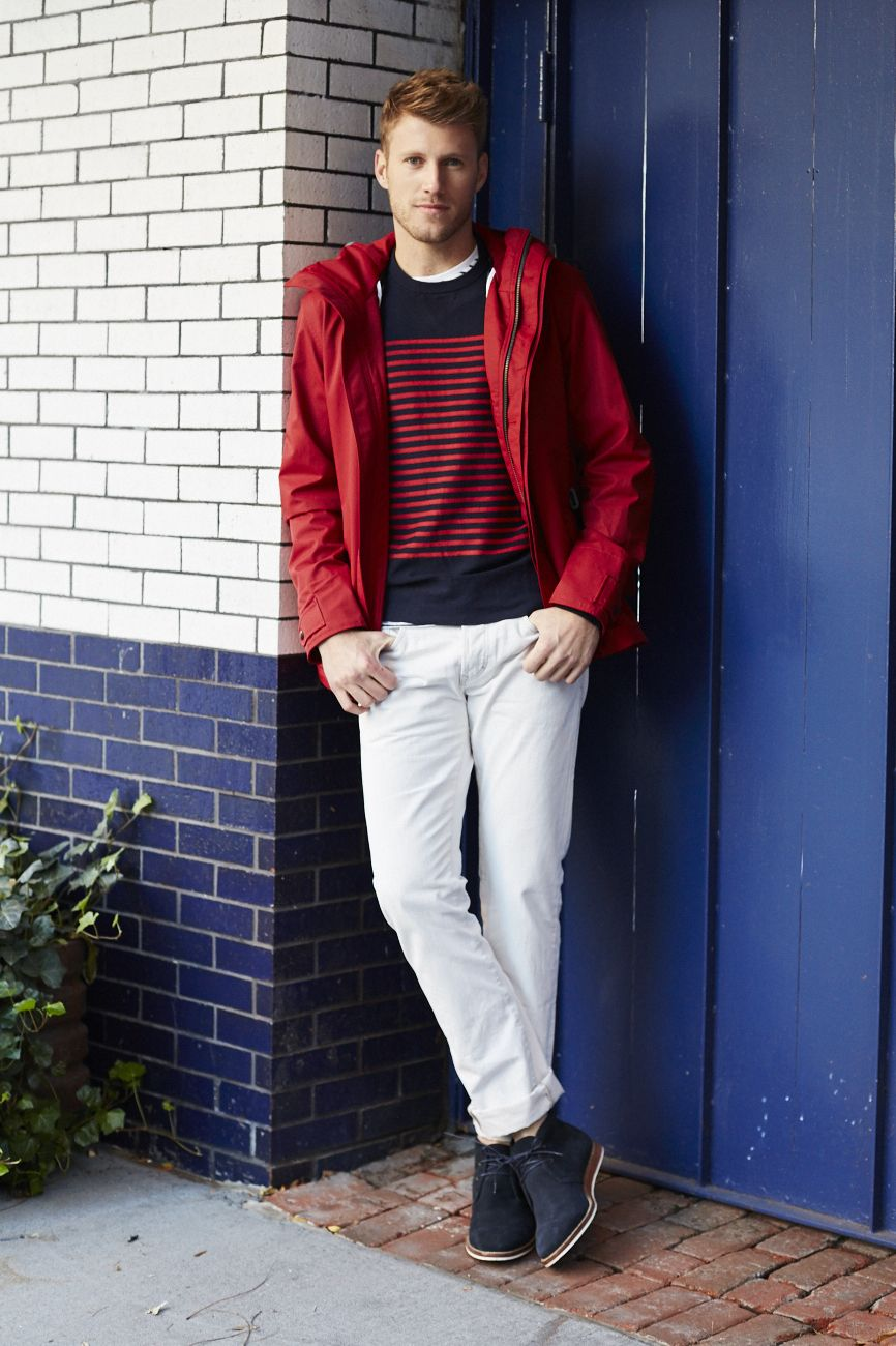 Add a nautical twist to your winter look with our men's navy and ...