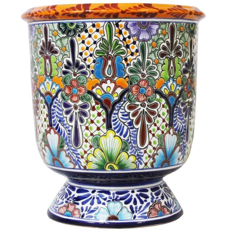 Talavera Planter Large Ceramic Planters Garden Pottery 400 x 300