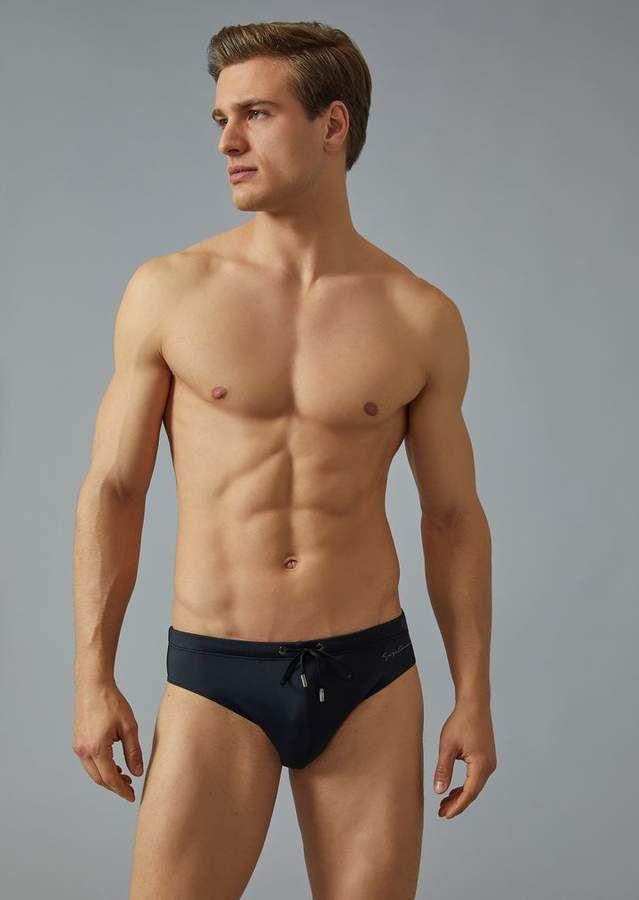 cab2e3ac49 Giorgio Armani Swimming Trunks | Handsome | Armani polo shirts, Swim ...