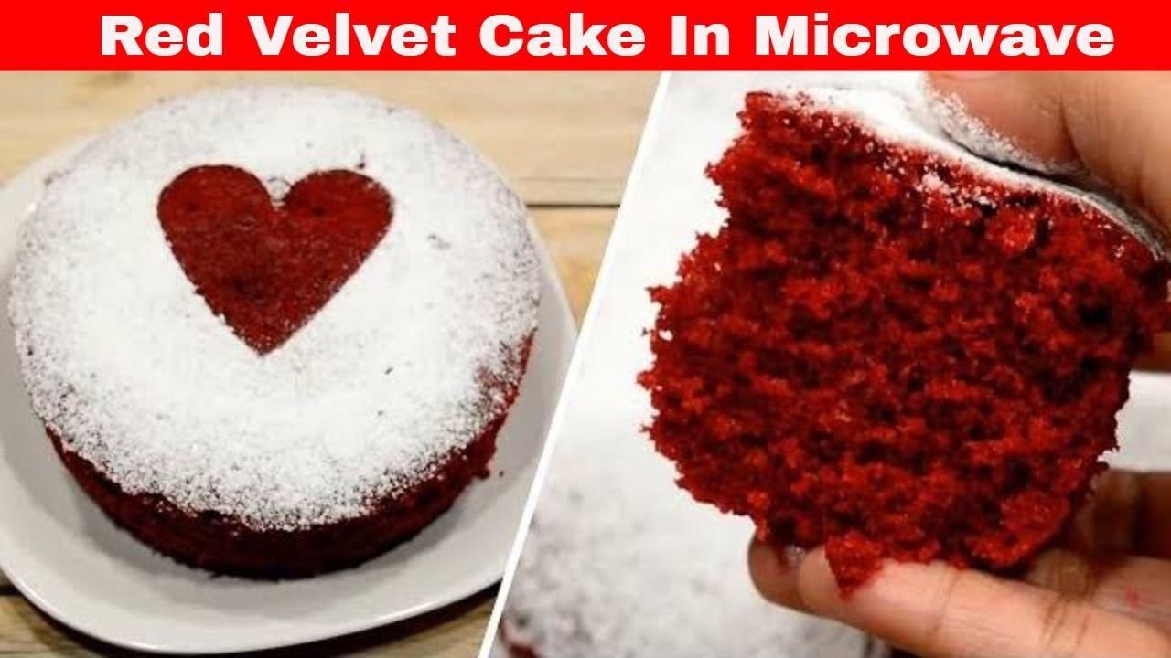 Valentine S Day Special 5 Min Microwave Cake Recipe ब न अ ड क र ड व In 2020 Microwave Cake Microwave Cake Recipe Microwave Recipes