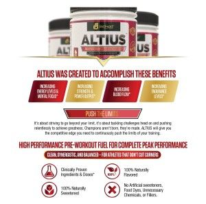 Altius Pre Workout By Jacked Factory Go Strong All Day Long Preworkout Pre Workout Supplement Workout