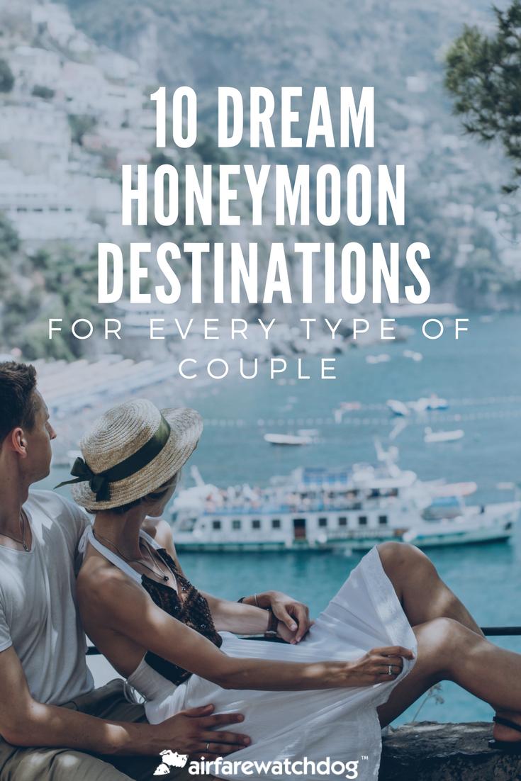 10 Dream Destinations For A Honeymoon