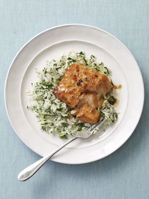 Sweet & Spicy Salmon (Woman's Day)