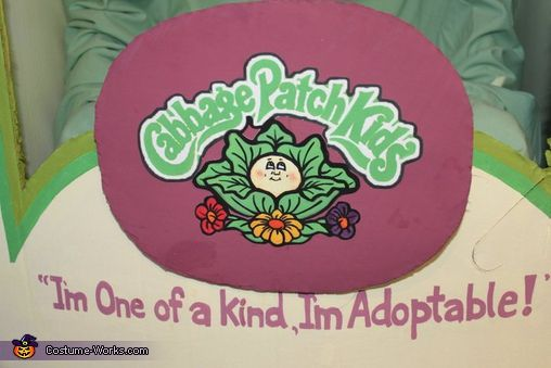 Cabbage Patch Kid - Halloween Costume Contest via @costume_works