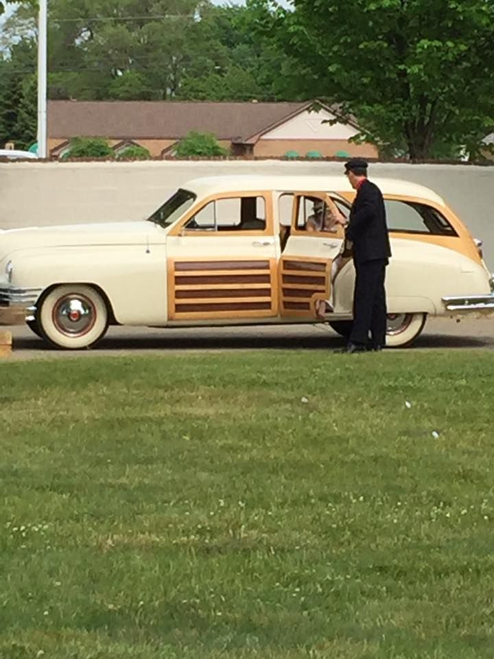 Reserve a classic Packard car & driver for your wedding at the Packard Proving Grounds Historic Site in Shelby Twp, MI