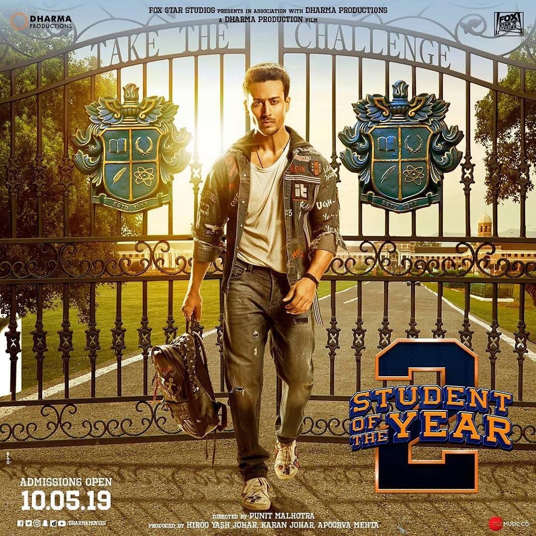 Back To College And Feeling Pretty Lit About It Soty2 Karanjohar Apoorva1972 Tarasutaria Ananyapanday P Student Of The Year Tiger Shroff 2 Movie