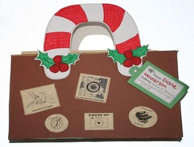 Christmas Around the World- suitcase