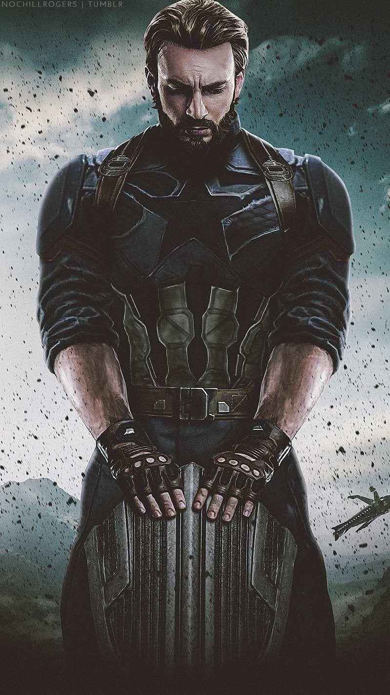 Captain America Avengers Infinity War Wallpaper Marvel