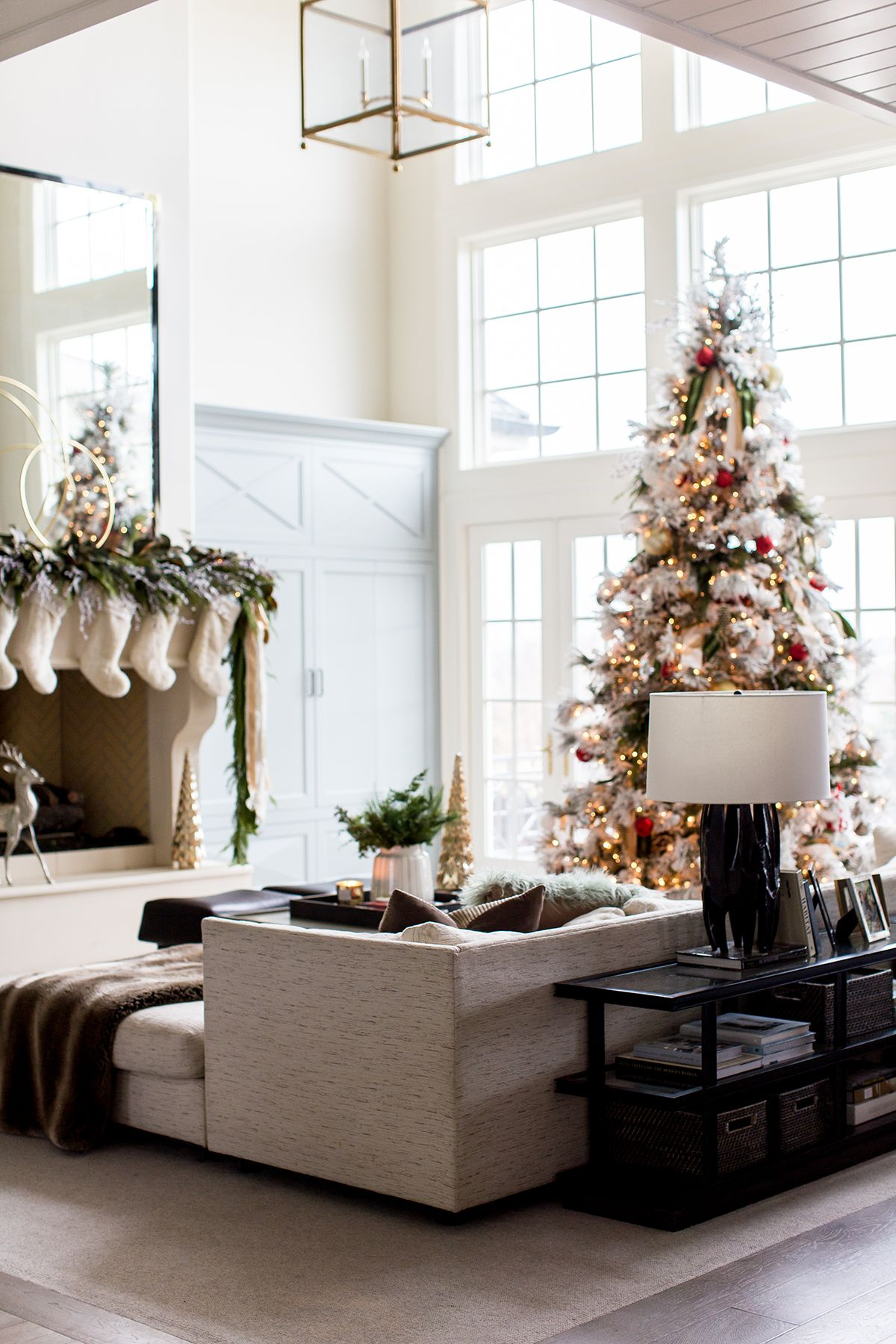 Our Home for Christmas | Ivory Lane blog/My looks | Pinterest ...