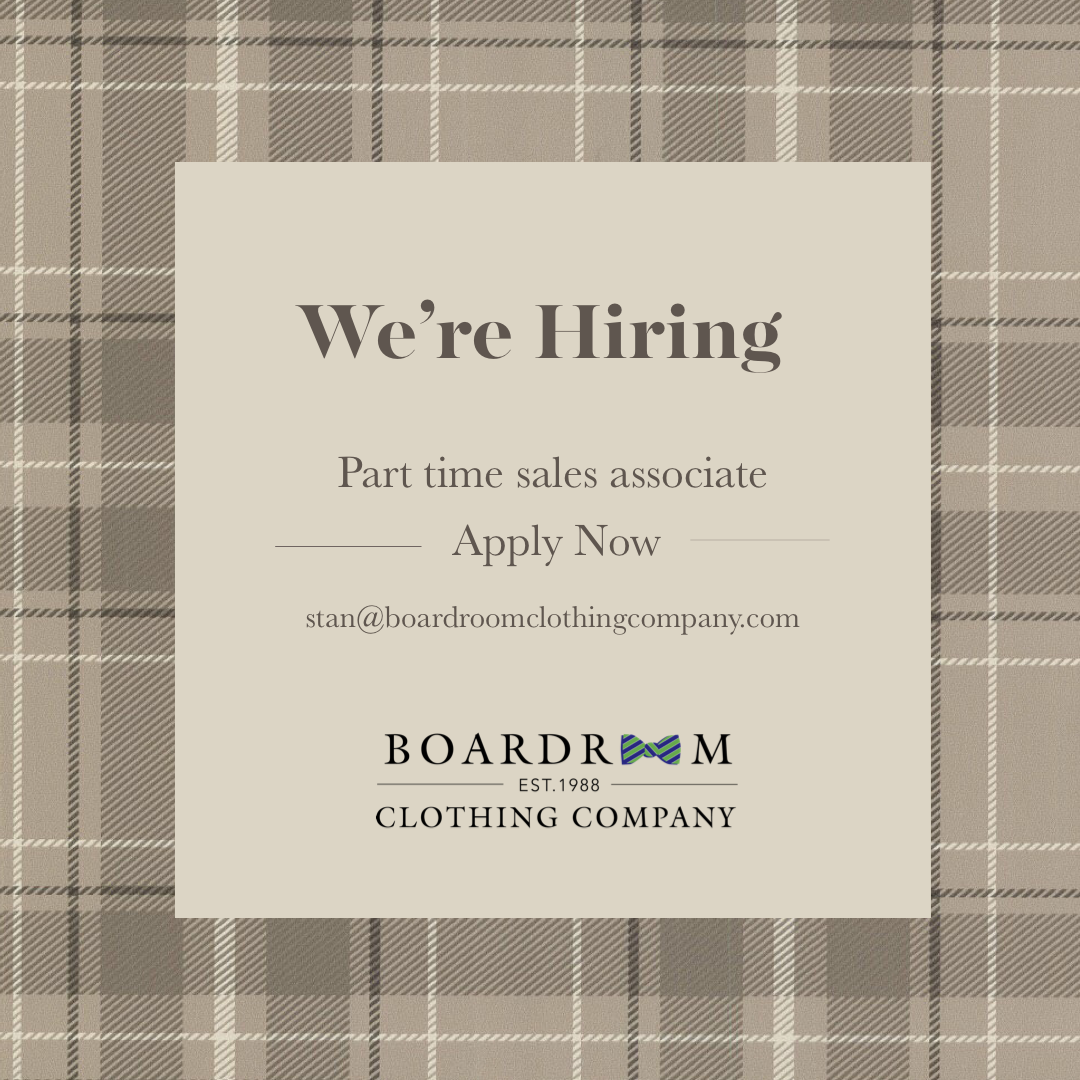 Good News! The Boardroom Is Hiring A Part Time Sales