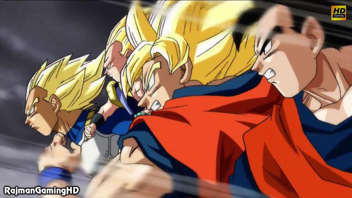 Super Saiyan Goku Super Saiyan Vegeta Mystic Gohan And Super