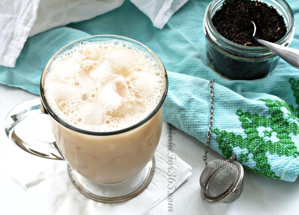 Soy Chai Latte Cocktail: spiced rum, cointreau, cinnamon ...