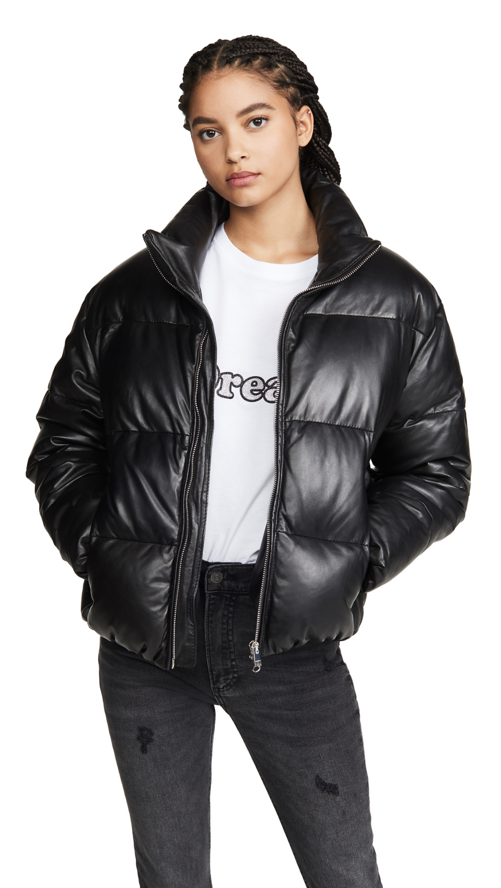 ONE by LAMARQUE Iris Leather Puffer in 2020 Puffer