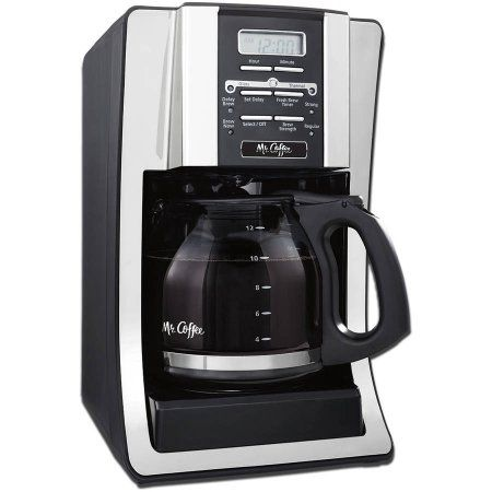 Mr Coffee 12 Cup Programmable Black Coffee Maker Walmart Com Mr Coffee Best Coffee Maker Coffee Maker