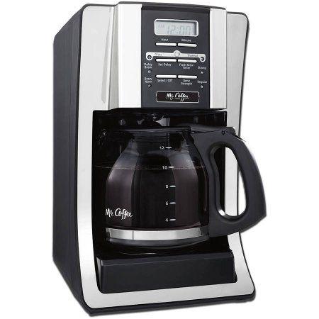 Mr Coffee 12 Cup Programmable Black Coffee Maker Walmart Com Mr Coffee Best Coffee Maker Coffee Maker