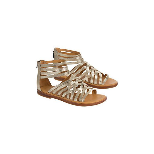 Women's Kork-Ease Palmyra Leather Gladiator Sandals (130 CAD) ❤ liked on Polyvore featuring shoes, sandals, leather shoes, kork ease sandals, tall gladiator sandals, criss-cross sandals and greek leather sandals