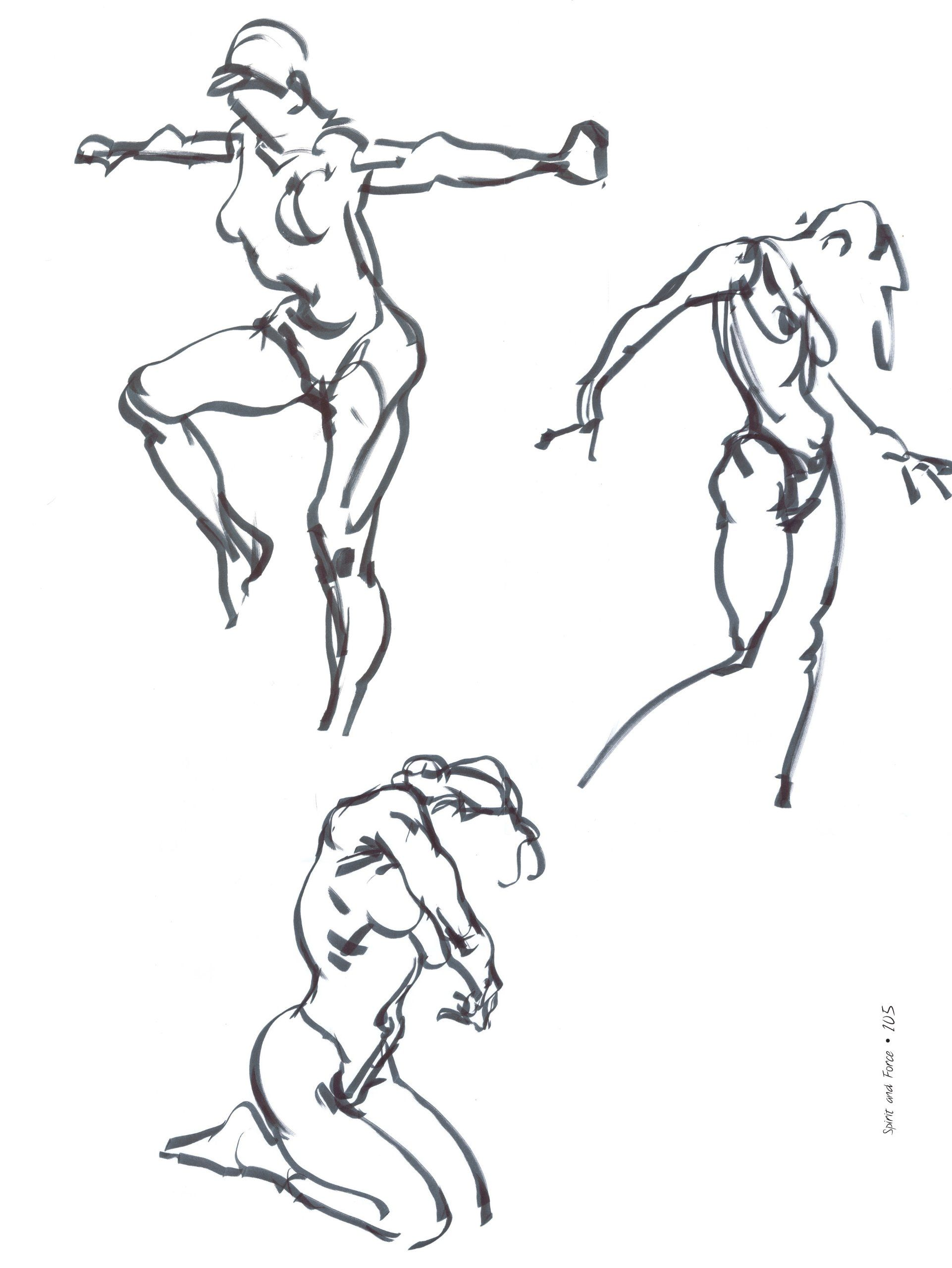 Spirit And Force In Figure Drawing: Karl Gnass, Michael