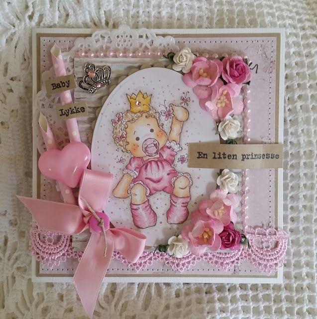 monicas papirhobby: En liten prinsesse