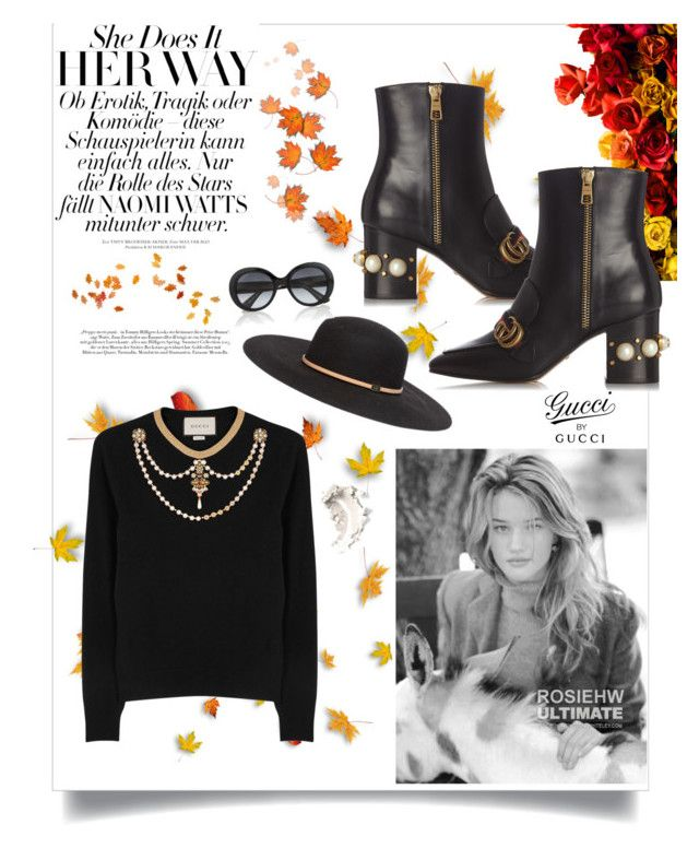"""""""Без названия #248"""" by aishasheykh ❤ liked on Polyvore featuring Whiteley and Gucci"""