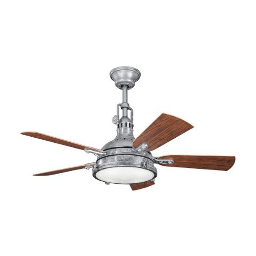 Kichler lighting 310101gst hatteras bay patio 44 inch 4 light damp kichler lighting 310101gst hatteras bay patio 44 inch 4 light damp rated ceiling aloadofball