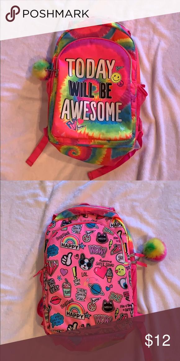 Reversible Justice Backpack Justice Backpacks Backpacks Justice Accessories