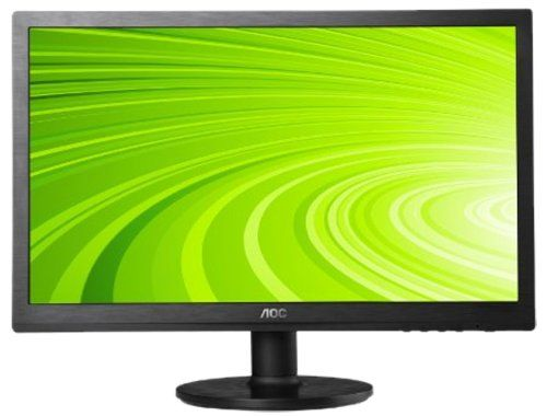 AOC Widescreen LED Monitor, The green LED panel have crafted AOC 60 Series  into the most eco-friendly monitor. Combining a sophisticated appearance  with ...