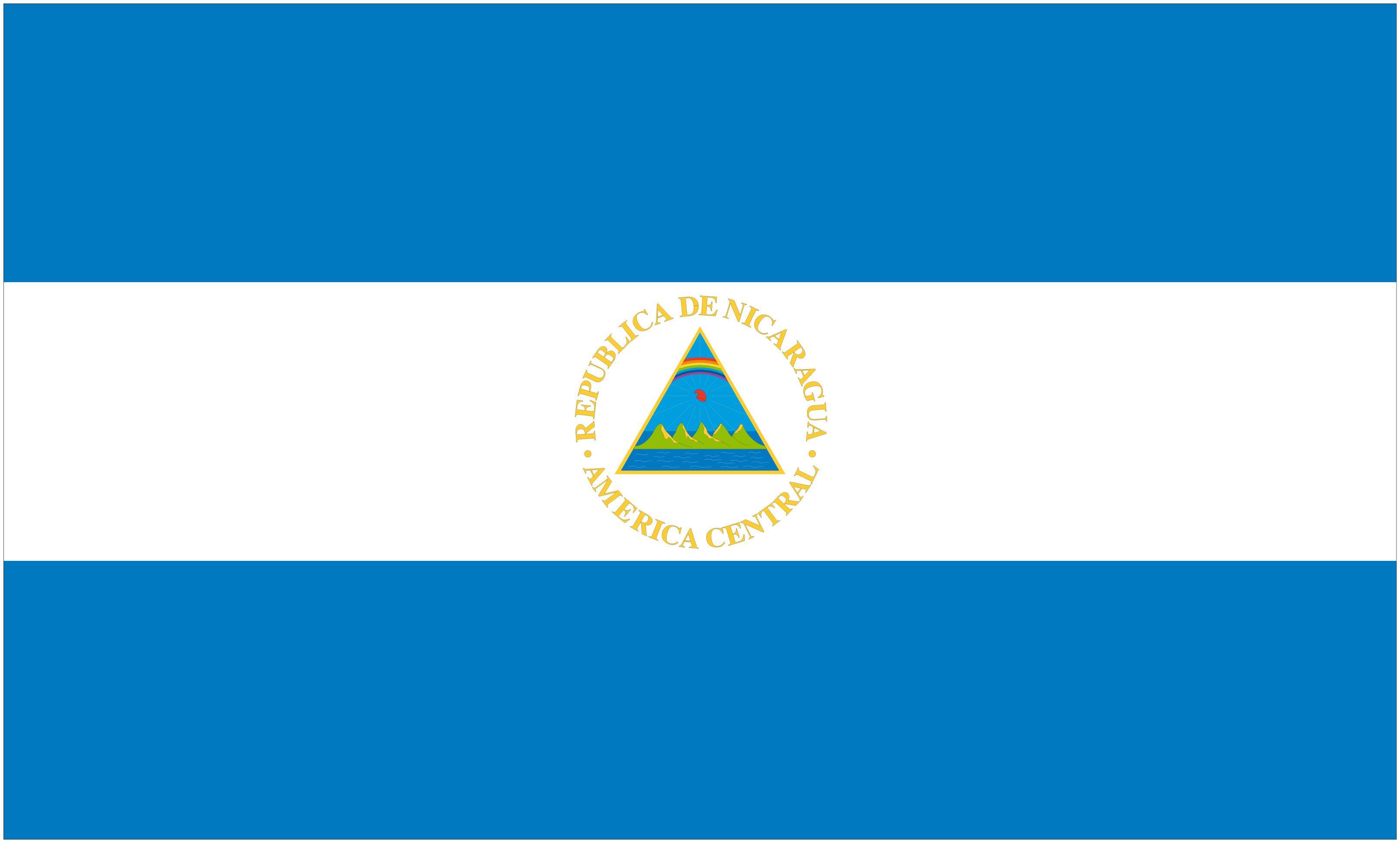 Nicaragua Flag Vector Free Logo Eps Download Nicaragua Flag Flag Nicaragua