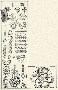 Illyrian Symbols Culture Of Albanians Pinterest Symbols Slavic Tattoo Croatian Tattoo Ancient Tattoo