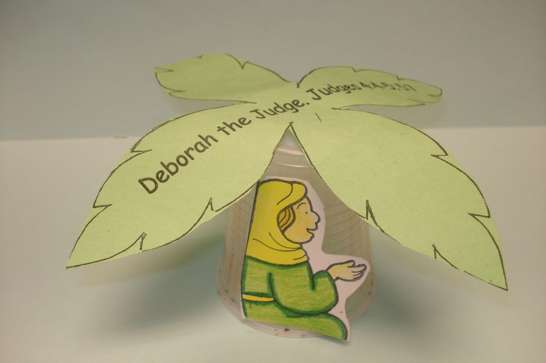 Sunday School Activities About Deborah And Barak T