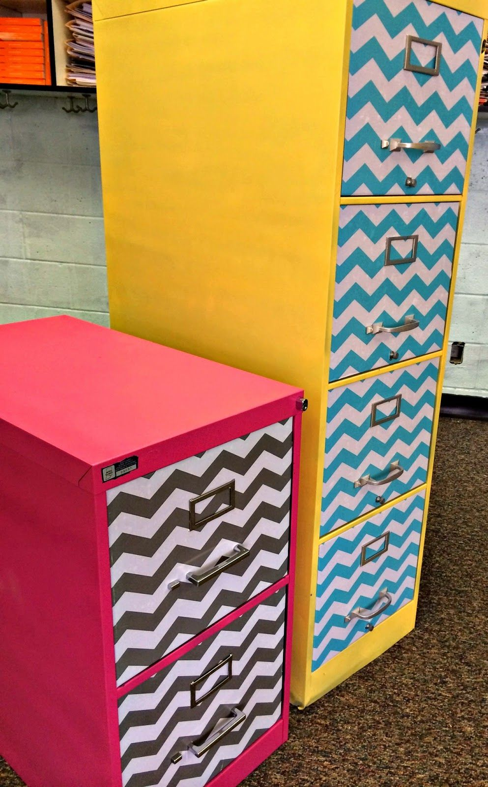 Sew Much Music- Filing cabinet makeover tutorial for your classroom ...