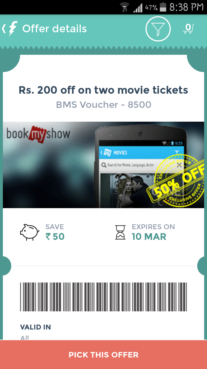 Free Flat Rs 200 Off On 2 Movies Tickets at Just Rs 99