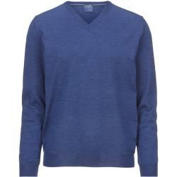 Photo of Olymp knit sweater, modern fit, blue, Xl Olymp