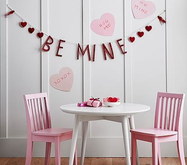 Valentine S Day Be Mine Garland Valentines For Kids