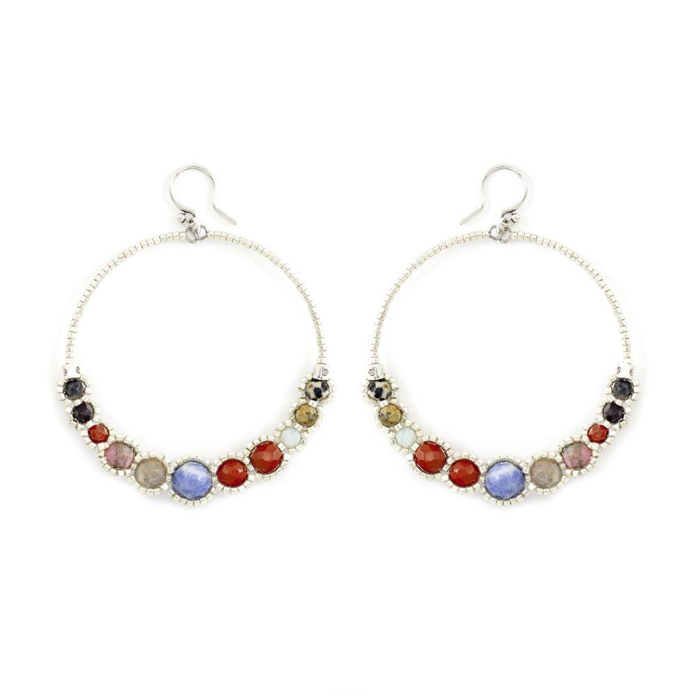 Chan Luu - Multi Hoop Earrings, $80.00 (http://www.chanluu.com/earrings/multi-hoop-earrings/)