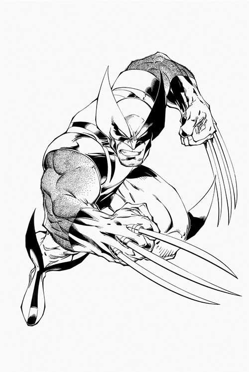 35 Desenhos do Wolverine para Imprimir e Colorir em Casa | x-men ...