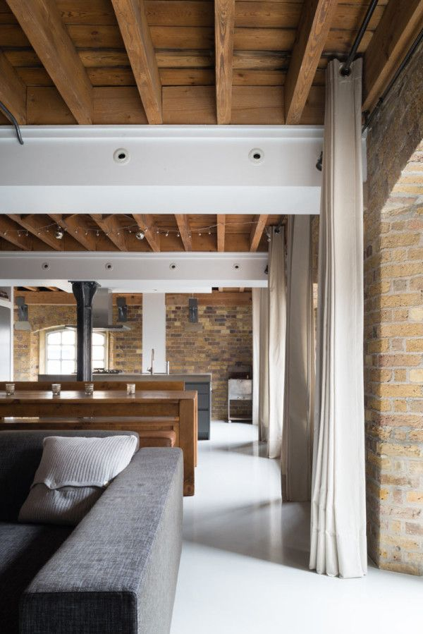 Inside Out Interiors Style Sunday: Old Warehouse Apartment Becomes Flexible Loft