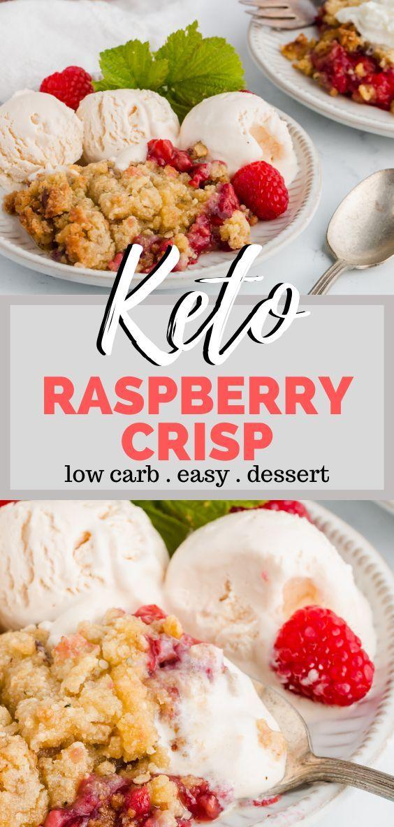 Photo of Keto Raspberry Crisp – Ein einfaches, leckeres glutenfreies Dessert