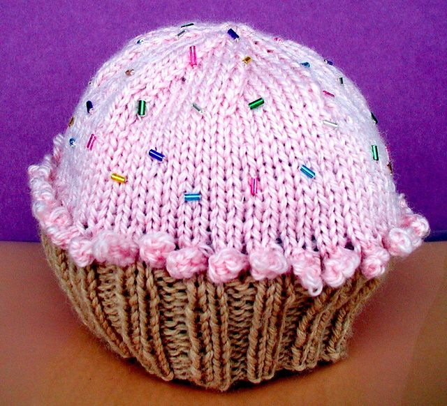Ravelry: sheepish1's cupcake hat   Cupcake hats, Hats ...