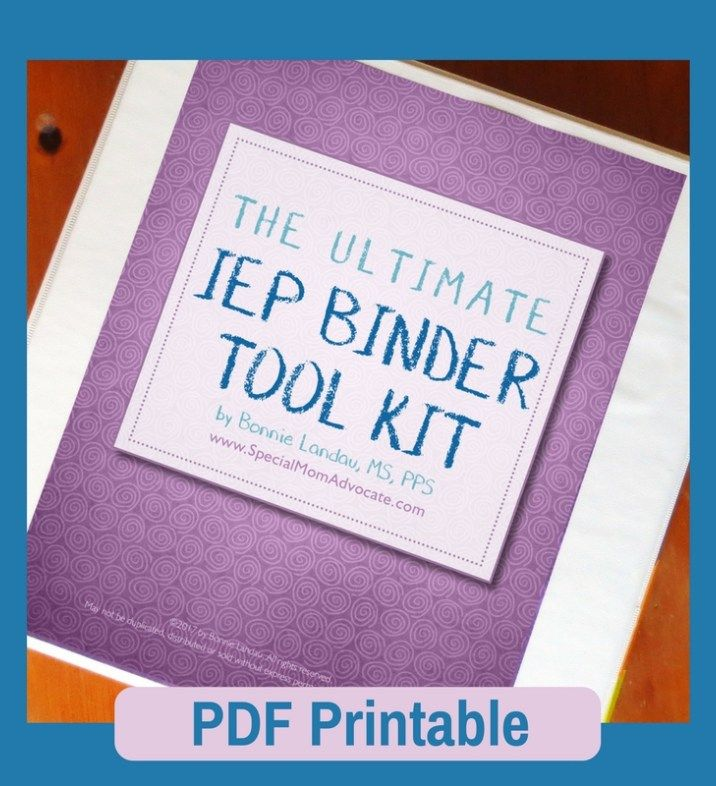 The Ultimate IEP Organizer For Special Ed Parents
