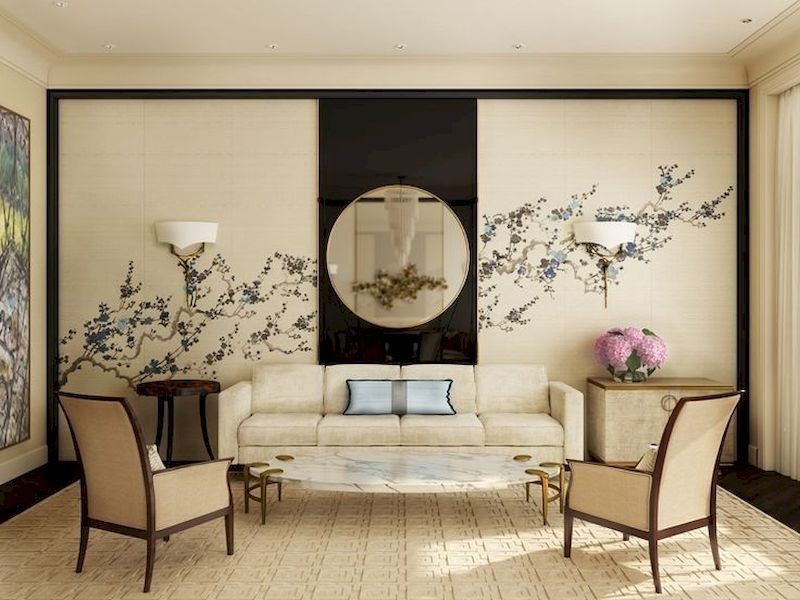 45 Impressive Chinese Living Room Decor Ideas Roundecor Asian Living Rooms Japanese Living Rooms Oriental Living Room