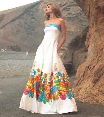 vestidos floreados Largos - Buscar con Google | vestidos | Pinterest ...