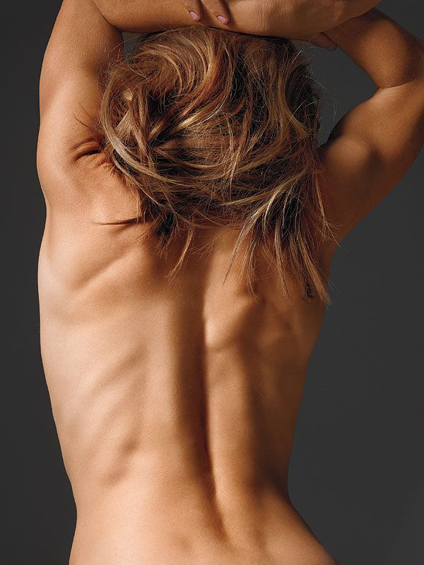 Jillian Michaels Poses Nude In Shape Holy Crap I Need To Start Working Out Again Ugh